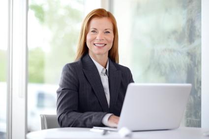 female tax professional