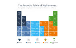 Infographic: Periodic Table of Wellements