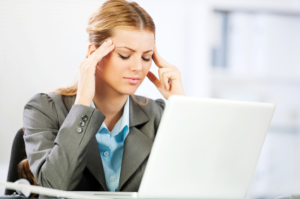 Frustrated tax professional