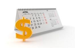 April tax deadline