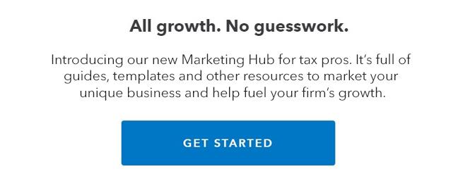 Intuit marketing hub