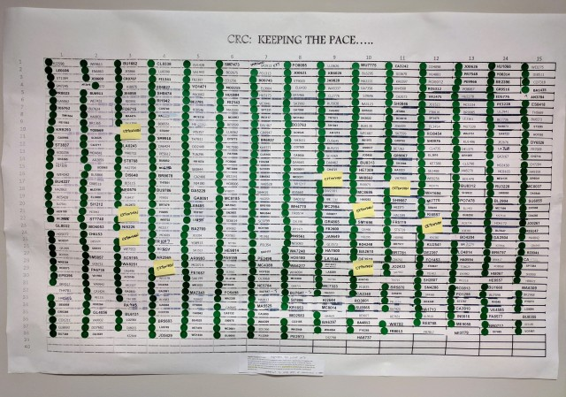 CRC Pace Board