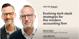 Ask the experts: Darren Root and John Mitchell discuss a firm's tech stack